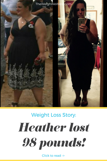 Heather Lost 98 Pounds