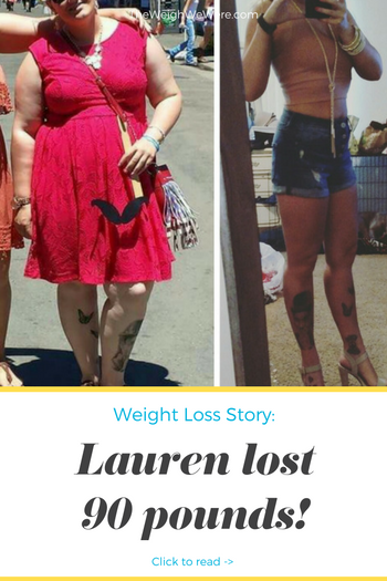 Lauren Lost 90 Pounds