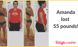 Amanda Lost 55 Pounds