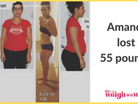 Amanda Lost 55 Pounds