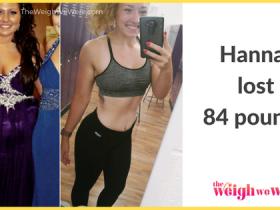 Hannah Lost 84 Pounds
