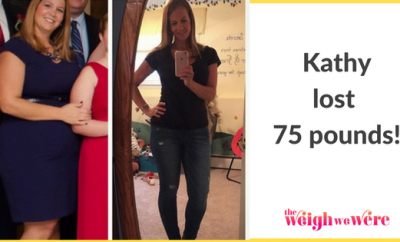 Kathy Lost 75 Pounds