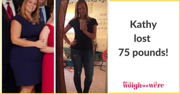 Kathy Lost 75 Pounds