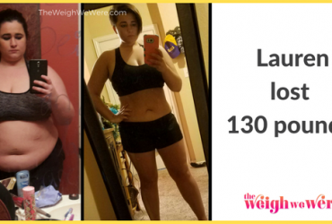 Lauren Lost 130 Pounds