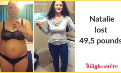 Real Weight Loss Success Stories: Natalie Found Myself After Losing 49.5 Pounds