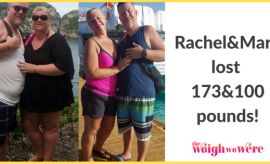 Rachel/Mark Lost 173/100 Pounds