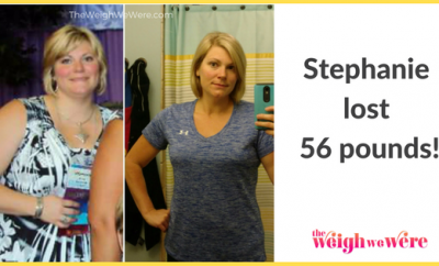 Weight Loss Before and After: Stephanie Went From Moody And Miserable To Confident And Happy Afer Losing 56 Pounds