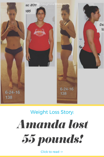 Amanda lost 55 pounds! See my before and after weight loss pictures, and read amazing weight loss success stories from real women and their best weight loss diet plans and programs. Motivation to lose weight with walking and inspiration from before and after weightloss pics and photos.