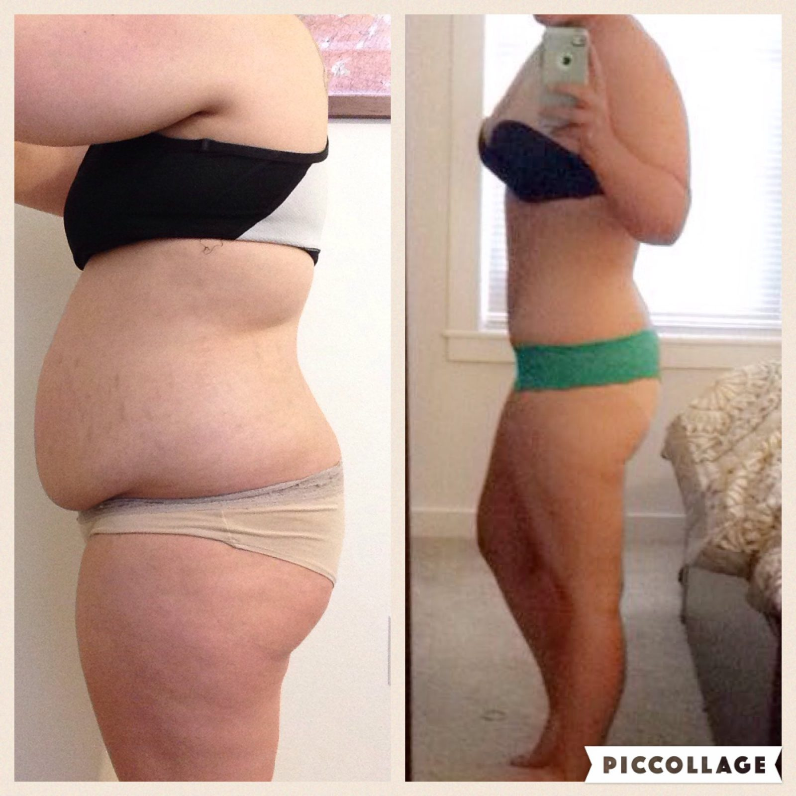 Before and After Weight Loss - FITBODY Body Transformation