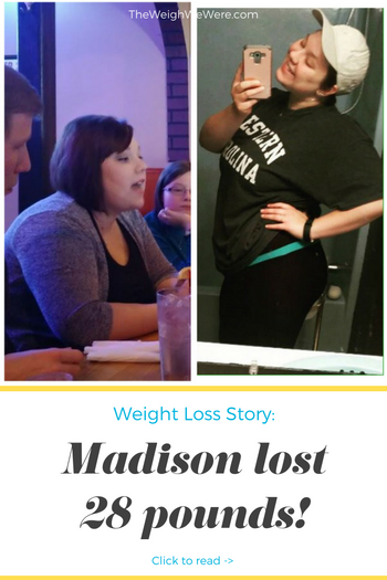 Madison lost 28 pounds! See my before and after weight loss pictures, and read amazing weight loss success stories from real women and their best weight loss diet plans and programs. Motivation to lose weight with walking and inspiration from before and after weightloss pics and photos.