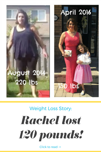 Rachel lost 120 pounds! See my before and after weight loss pictures, and read amazing weight loss success stories from real women and their best weight loss diet plans and programs. Motivation to lose weight with walking and inspiration from before and after weightloss pics and photos.