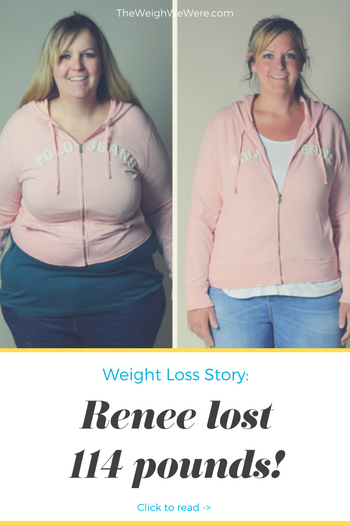 Renee lost 114 pounds! See my before and after weight loss pictures, and read amazing weight loss success stories from real women and their best weight loss diet plans and programs. Motivation to lose weight with walking and inspiration from before and after weightloss pics and photos.