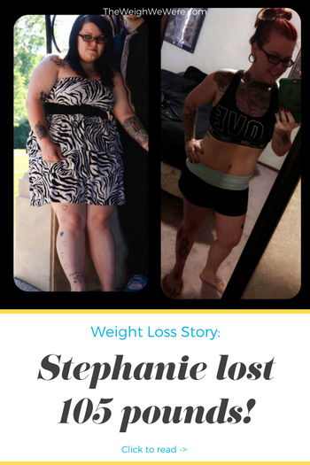 Stephanie lost 105 pounds! See my before and after weight loss pictures, and read amazing weight loss success stories from real women and their best weight loss diet plans and programs. Motivation to lose weight with walking and inspiration from before and after weightloss pics and photos.