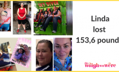 153.6 Pounds Lost: As my daughter was growing up I was growing wider