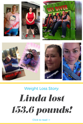 Linda Lost 153.6 Pounds