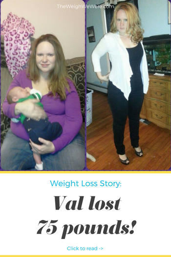 Val Lost 75 Pounds