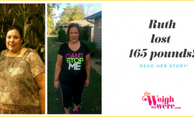 165 Pounds Lost: I was sick and tired of being sick and so unhealthy