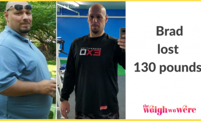 130 pound weight loss transformation