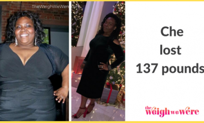 Read her story for inspiration! Black women before and after weight loss transformation. African American female fitness motivation workout photos and pictures. 30, 40, 50, 60, 100 pound weightloss 137 pound weight loss transformation