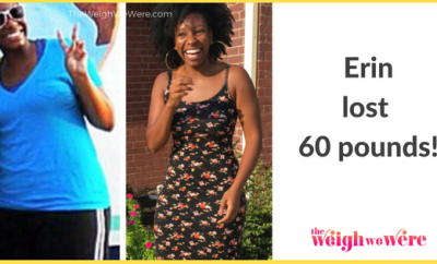 Read her story for inspiration! Black women before and after weight loss transformation. African American female fitness motivation workout photos and pictures. 30, 40, 50, 60, 100 pound weightloss 60 pound weight loss transformation