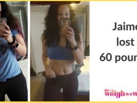 60 pound weight loss transformation