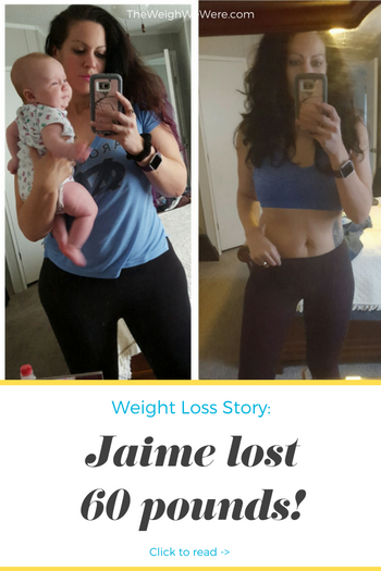Jaime lost 60 pounds! See my before and after weight loss pictures, and read amazing weight loss success stories from real women and their best weight loss diet plans and programs. Motivation to lose weight with walking and inspiration from before and after weightloss pics and photos.