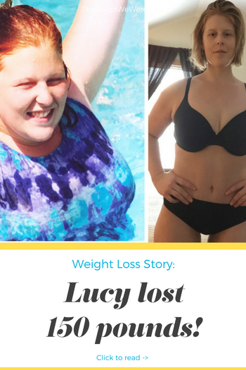 150 pound weight loss transformation