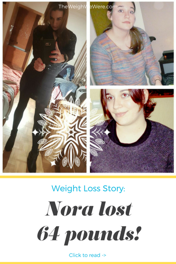 64 pound weight loss transformation