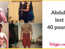Abdulla Lost 40 Pounds