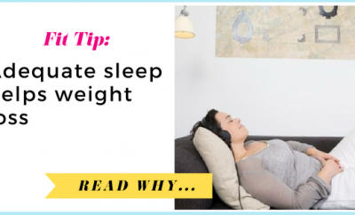 Adequate sleep helps weight loss| via TheWeighWeWere.com