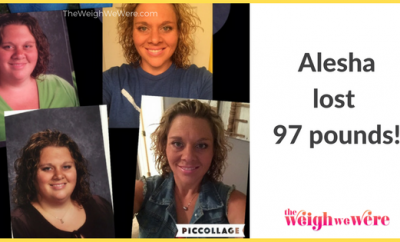Alesha Lost 97 Pounds