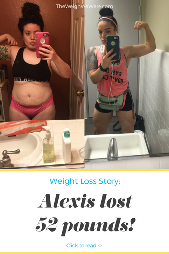 Alexis Lost 52 Pounds