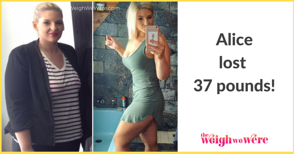 Alice Lost 37 Pounds