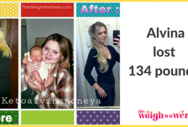 Alvina Lost 134 Pounds