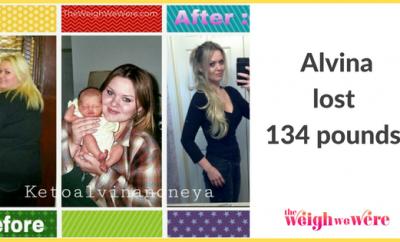 Alvina Lost 134 Pounds