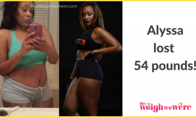 Before And After: Alyssa Loses 54 Pounds And Posts Amazing After Photo