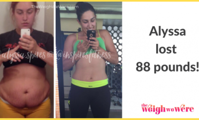 Weight Loss Before and After: Alyssa Lost 88 Pounds And Became An Example For Others