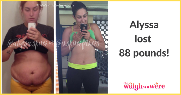 Weight Loss Before and After: Alyssa Lost 88 Pounds And ...