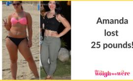 Amanda Lost 25 Pounds