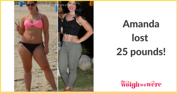 Amanda Lost 25 Pounds