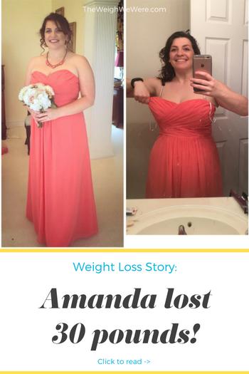 Amanda Lost 30 Pounds