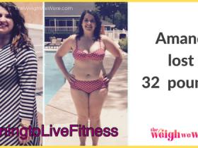 Amanda Lost 32 Pounds