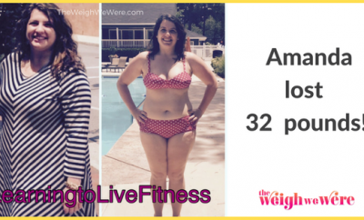 Weight Loss Success Stories: Amanda's 32 Pound Weight Loss Transformation