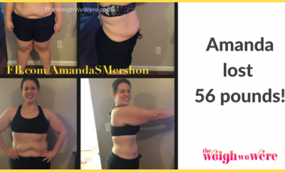 Real Weight Loss Success Stories: Amanda Fought Her Anxiety And Depression By Losing 56 Pounds