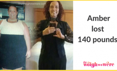 Real Weight Loss Success Stories: Amber Sheds 140 Pounds And Gets Her Body Back In Shape