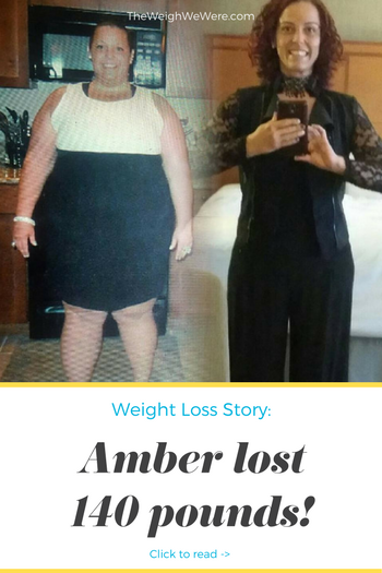 Real Weight Loss Success Stories: Amber Sheds 140 Pounds ...