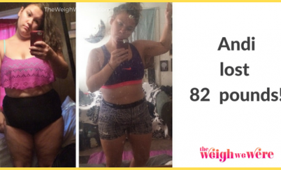 Real Weight Loss Success Stories: Andie Focused On Progress Versus Perfection To Lose 82 Pounds