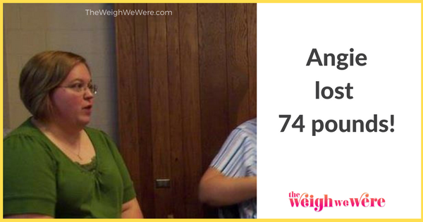 Angie Lost 74 Pounds