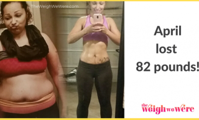Real Weight Loss Success Stories: April's 82 Pound Weight Loss Journey