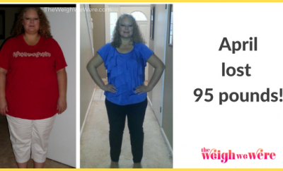 April Lost 95 Pounds